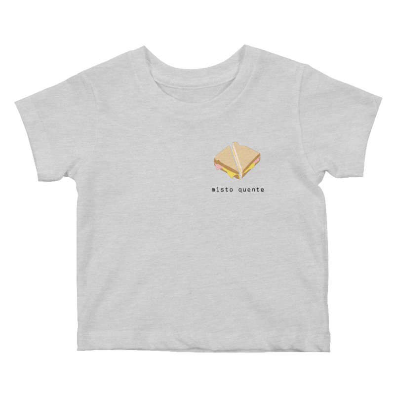 Misto quente - Brazilian snack (pocket) Kids Baby T-Shirt by Hello Siyi