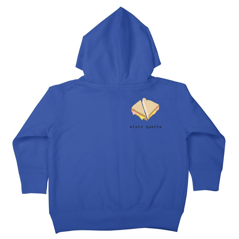Misto quente - Brazilian snack (pocket) Kids Toddler Zip-Up Hoody by Hello Siyi