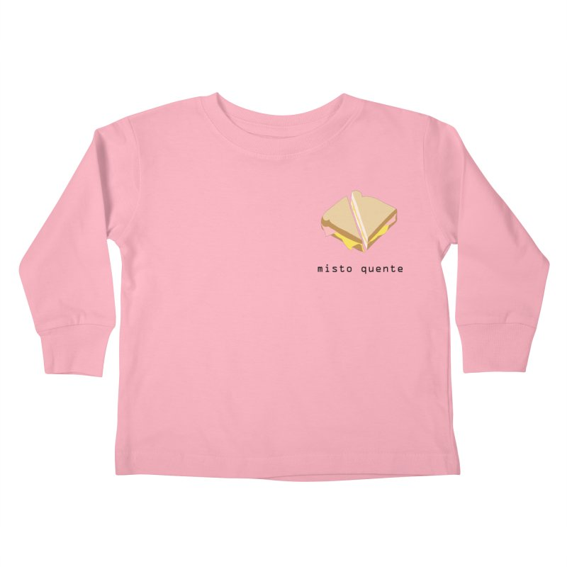 Misto quente - Brazilian snack (pocket) Kids Toddler Longsleeve T-Shirt by Hello Siyi