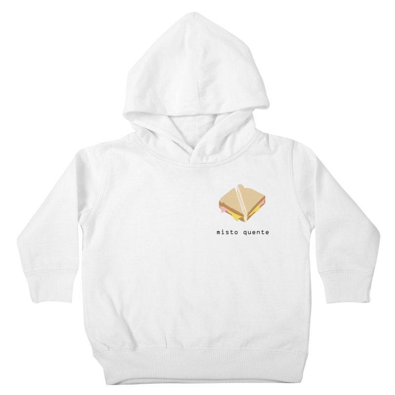 Misto quente - Brazilian snack (pocket) Kids Toddler Pullover Hoody by Hello Siyi