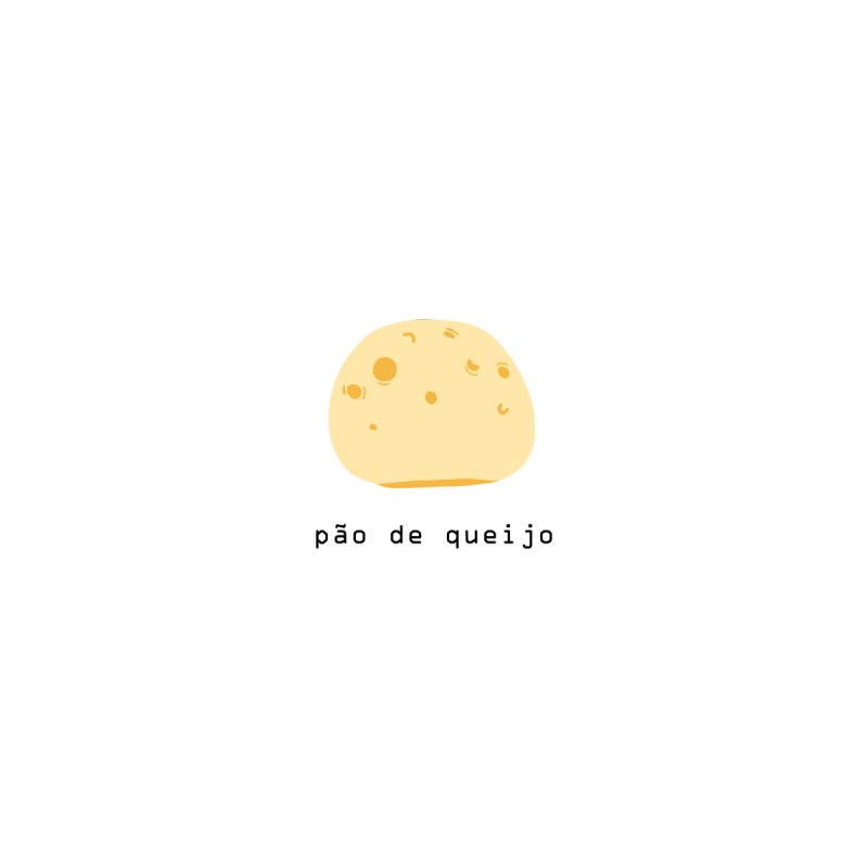 Pão de queijo - Brazilian snack (pocket) Women's T-Shirt by Hello Siyi
