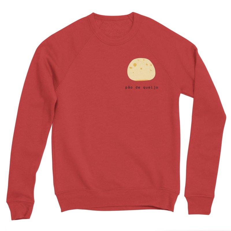 Pão de queijo - Brazilian snack (pocket) Women's Sponge Fleece Sweatshirt by Hello Siyi