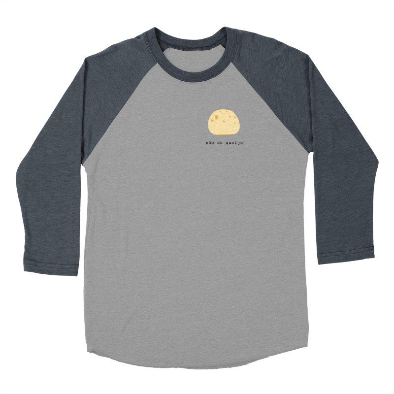 Pão de queijo - Brazilian snack (pocket) Women's Baseball Triblend Longsleeve T-Shirt by Hello Siyi