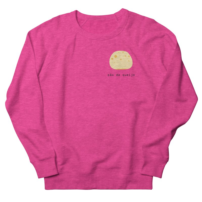 Pão de queijo - Brazilian snack (pocket) Women's French Terry Sweatshirt by Hello Siyi