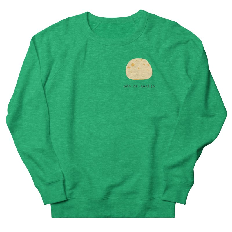 Pão de queijo - Brazilian snack (pocket) Men's French Terry Sweatshirt by Hello Siyi