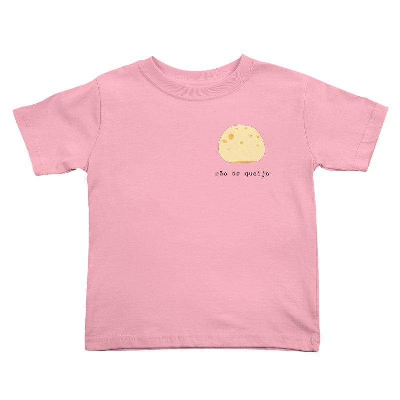 Pão de queijo - Brazilian snack (pocket) Kids Toddler T-Shirt by Hello Siyi