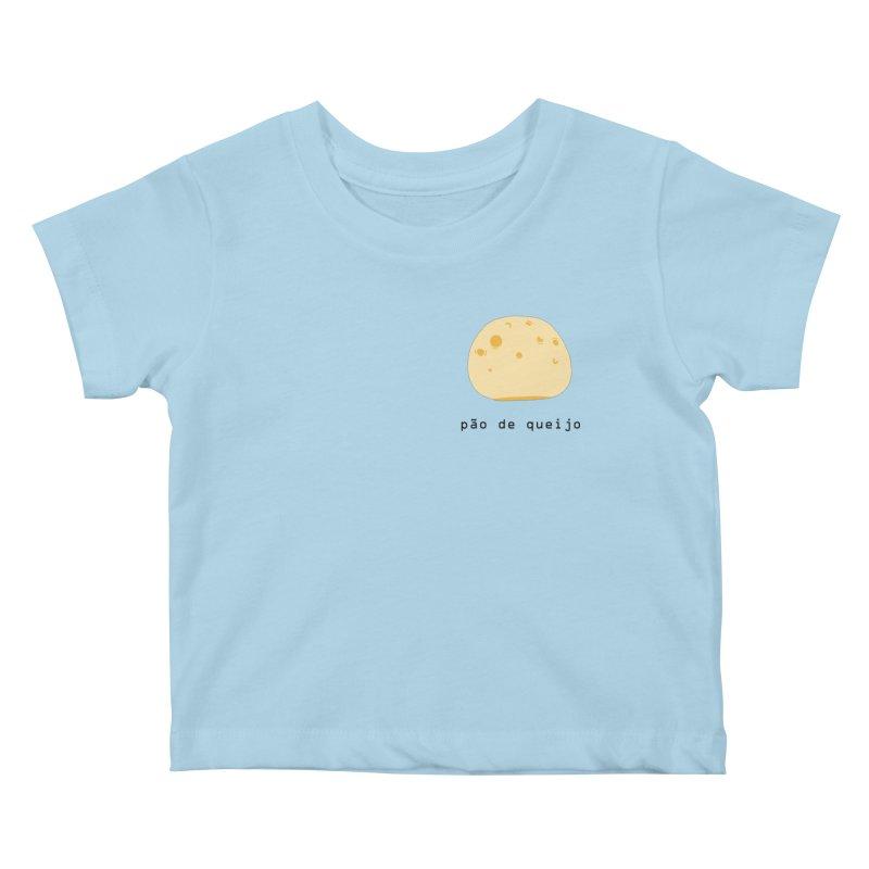 Pão de queijo - Brazilian snack (pocket) Kids Baby T-Shirt by Hello Siyi