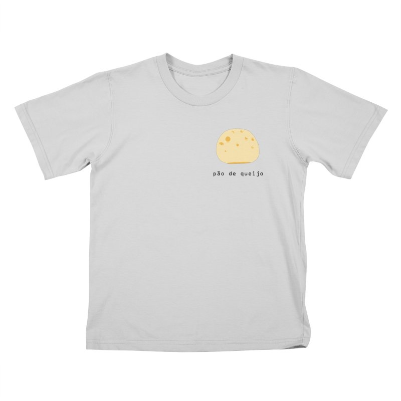 Pão de queijo - Brazilian snack (pocket) Kids T-Shirt by Hello Siyi