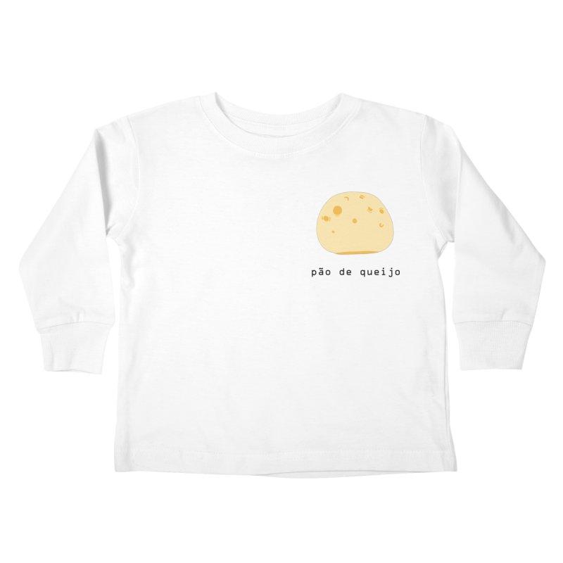 Pão de queijo - Brazilian snack (pocket) Kids Toddler Longsleeve T-Shirt by Hello Siyi