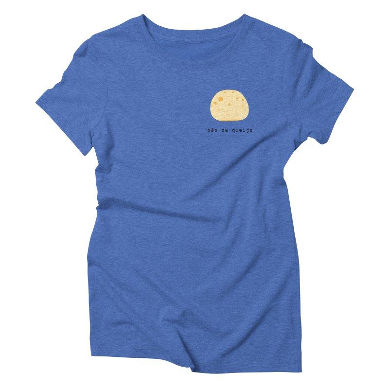 Pão de queijo - Brazilian snack (pocket) Women's Triblend T-Shirt by Hello Siyi