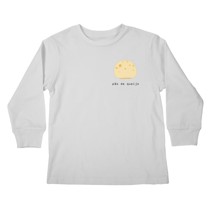Pão de queijo - Brazilian snack (pocket) Kids Longsleeve T-Shirt by Hello Siyi