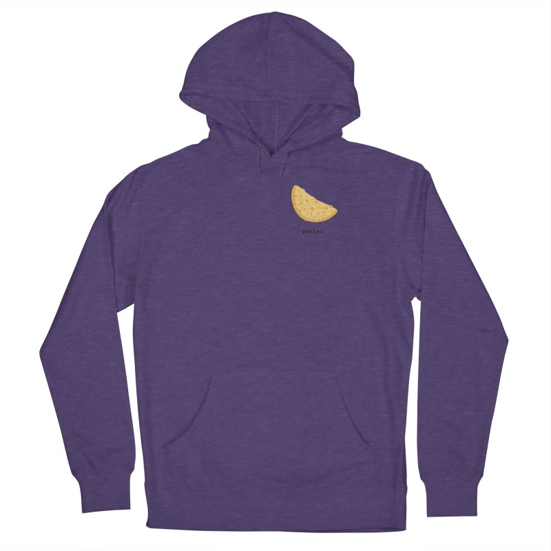 Pastel - Brazilian snack (pocket) Men's French Terry Pullover Hoody by Hello Siyi