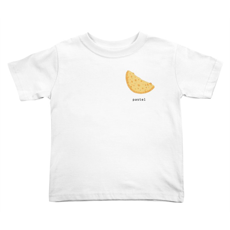 Pastel - Brazilian snack (pocket) Kids Toddler T-Shirt by Hello Siyi