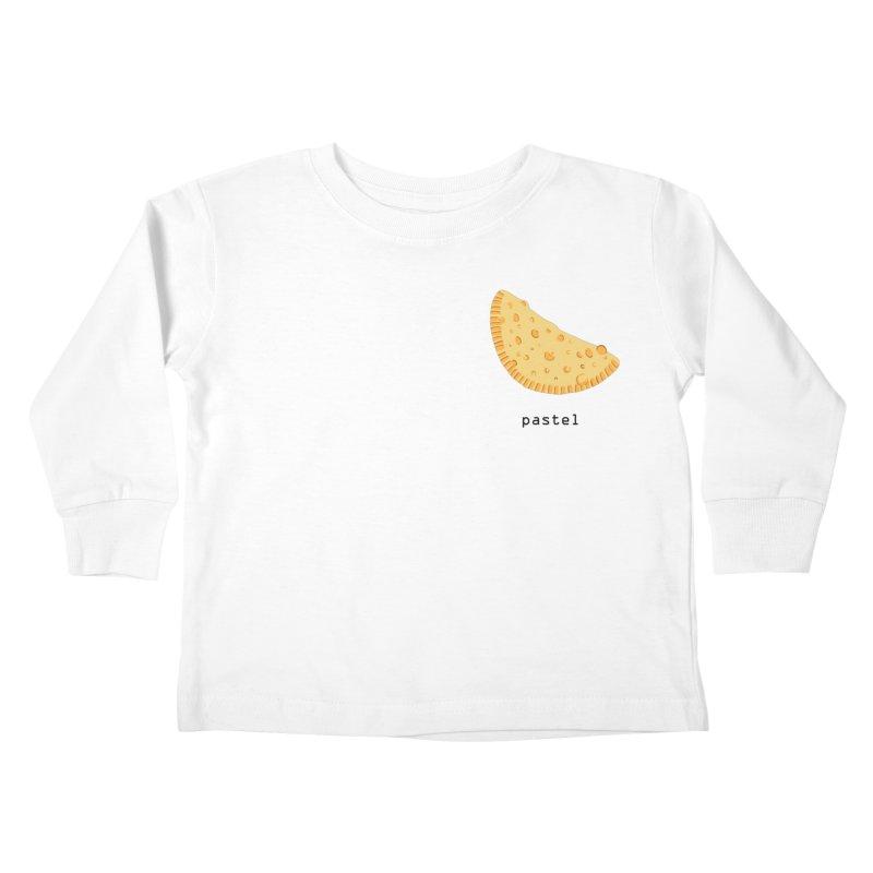 Pastel - Brazilian snack (pocket) Kids Toddler Longsleeve T-Shirt by Hello Siyi