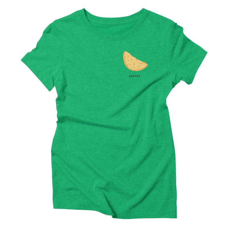 Pastel - Brazilian snack (pocket) Women's Triblend T-Shirt by Hello Siyi