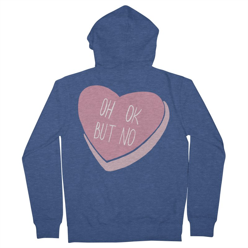 Oh ok, but no Women's French Terry Zip-Up Hoody by Hello Siyi
