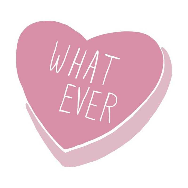 Whatever (Candy heart) Men's T-Shirt by Hello Siyi