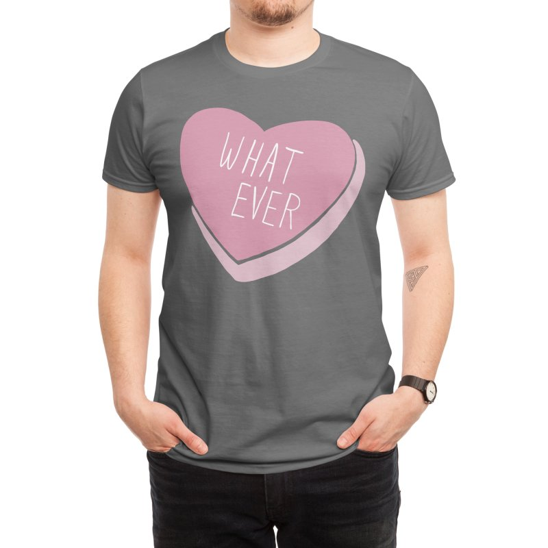 Whatever (Candy heart) Men's T-Shirt by Hey Siyi