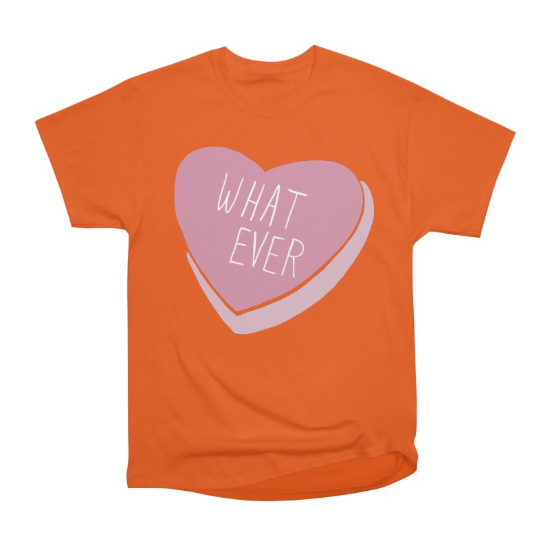 Whatever Men's Heavyweight T-Shirt by Hello Siyi