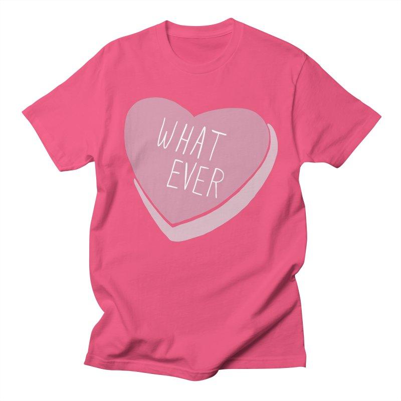 Whatever Women's Regular Unisex T-Shirt by Hello Siyi