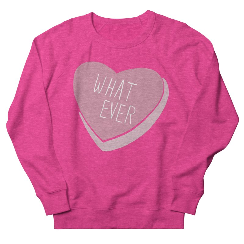Whatever Men's French Terry Sweatshirt by Hello Siyi