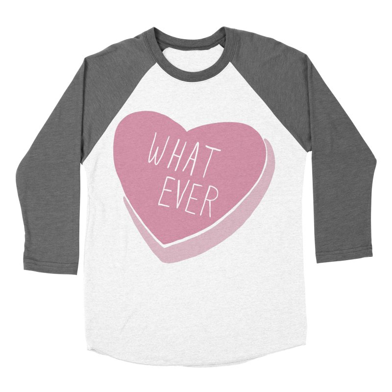 Whatever Men's Baseball Triblend Longsleeve T-Shirt by Hello Siyi