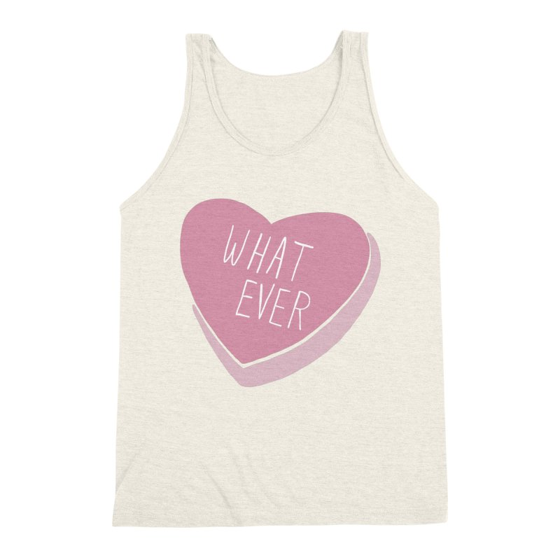 Whatever Men's Triblend Tank by Hello Siyi