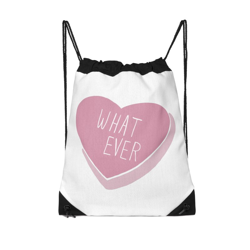 Whatever Accessories Drawstring Bag Bag by Hello Siyi