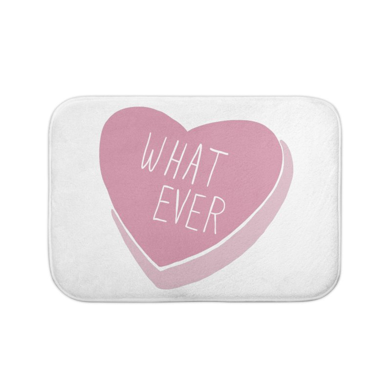 Whatever Home Bath Mat by Hello Siyi