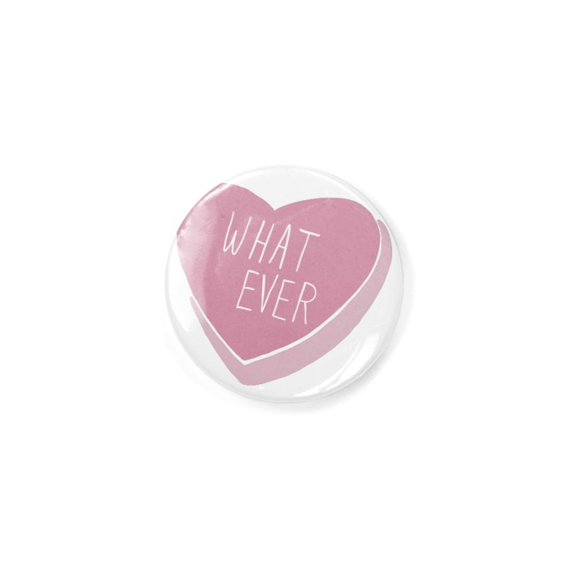 Whatever (Candy heart) Accessories Button by Hello Siyi