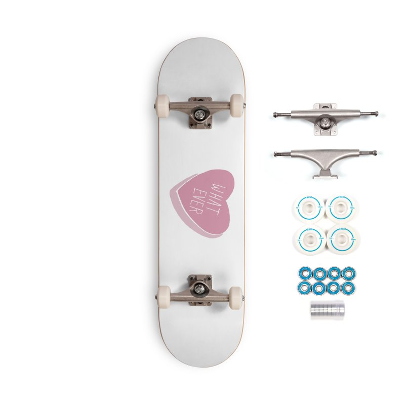 Whatever (Candy heart) Accessories Skateboard by Hello Siyi