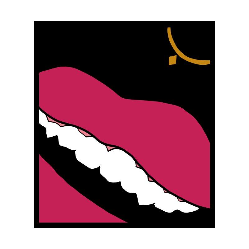AHA lips Women's T-Shirt by Hello Siyi
