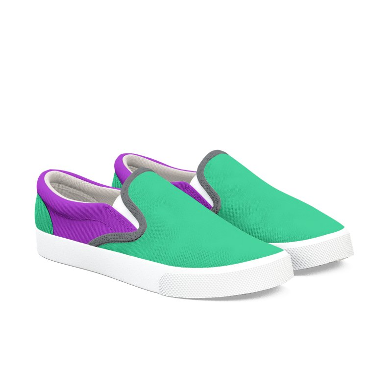 Color Block 4 Men's Slip-On Shoes by Hello Siyi
