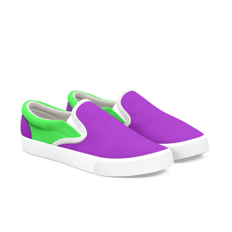 Color Block 5 Women's Slip-On Shoes by Hello Siyi