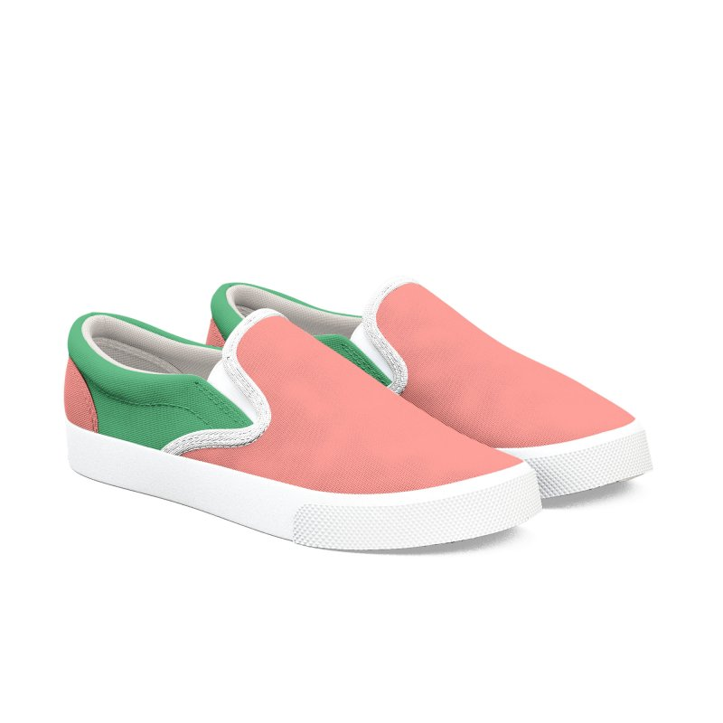 Color Block 8 Women's Slip-On Shoes by Hello Siyi