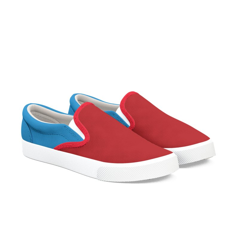Color Block 10 Men's Slip-On Shoes by Hello Siyi