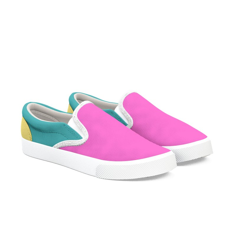 Color Block 12 Women's Slip-On Shoes by Hello Siyi