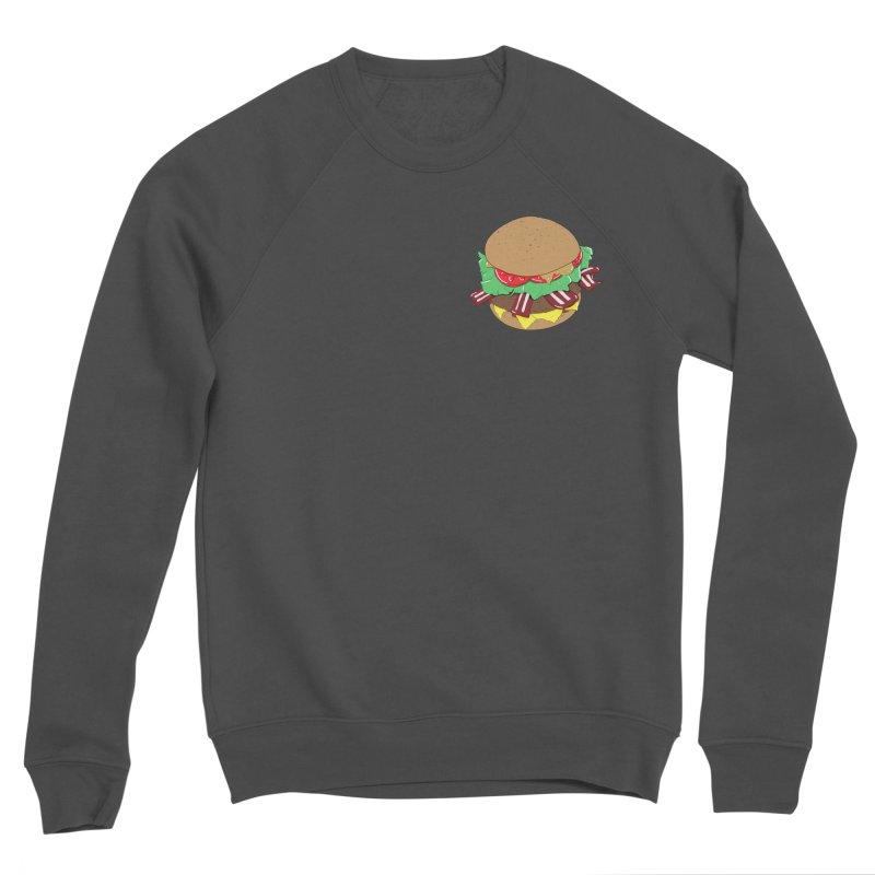Burger (pocket) Women's Sponge Fleece Sweatshirt by Hello Siyi