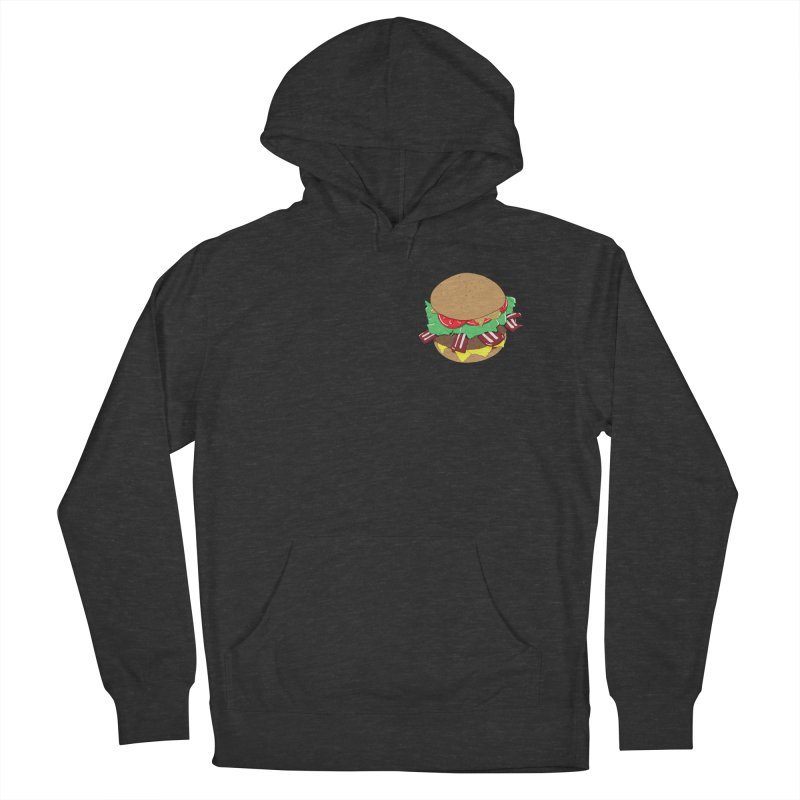 Burger (pocket) Women's French Terry Pullover Hoody by Hello Siyi