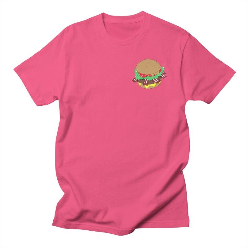 Burger (pocket) Women's Regular Unisex T-Shirt by Hello Siyi