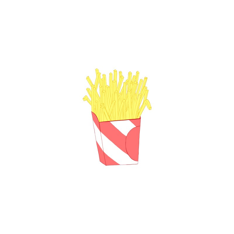 Fries (pocket) by Hello Siyi