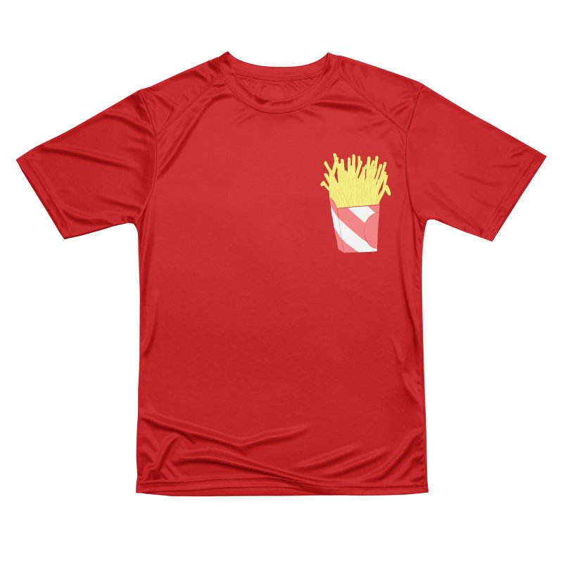 Fries (pocket) Women's Performance Unisex T-Shirt by Hello Siyi