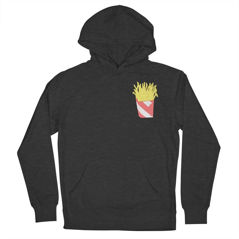 Fries (pocket) Men's French Terry Pullover Hoody by Hello Siyi