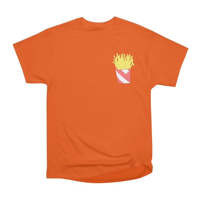 Fries (pocket) Women's Heavyweight Unisex T-Shirt by Hello Siyi