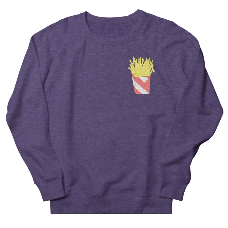Fries (pocket) Women's French Terry Sweatshirt by Hello Siyi