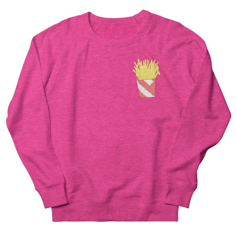 Fries (pocket) Men's French Terry Sweatshirt by Hello Siyi