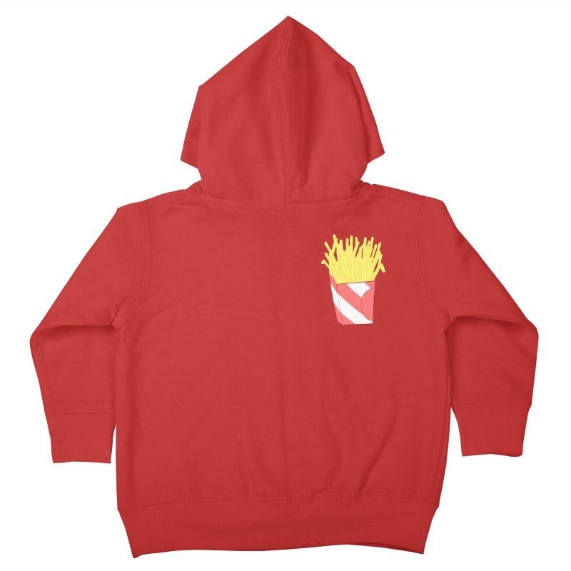 Fries (pocket) Kids Toddler Zip-Up Hoody by Hello Siyi