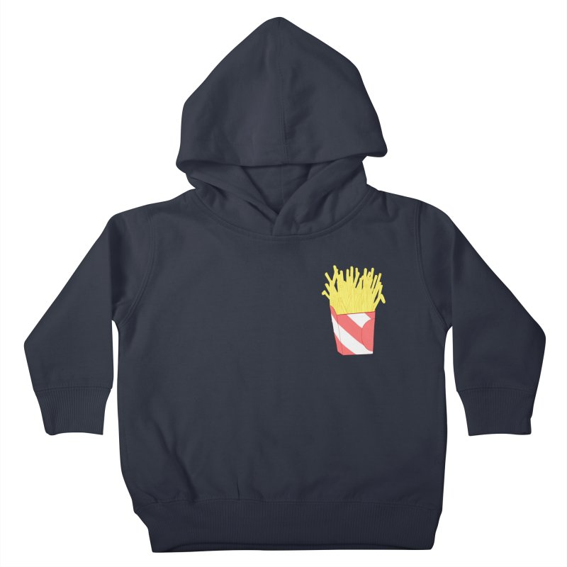 Fries (pocket) Kids Toddler Pullover Hoody by Hello Siyi