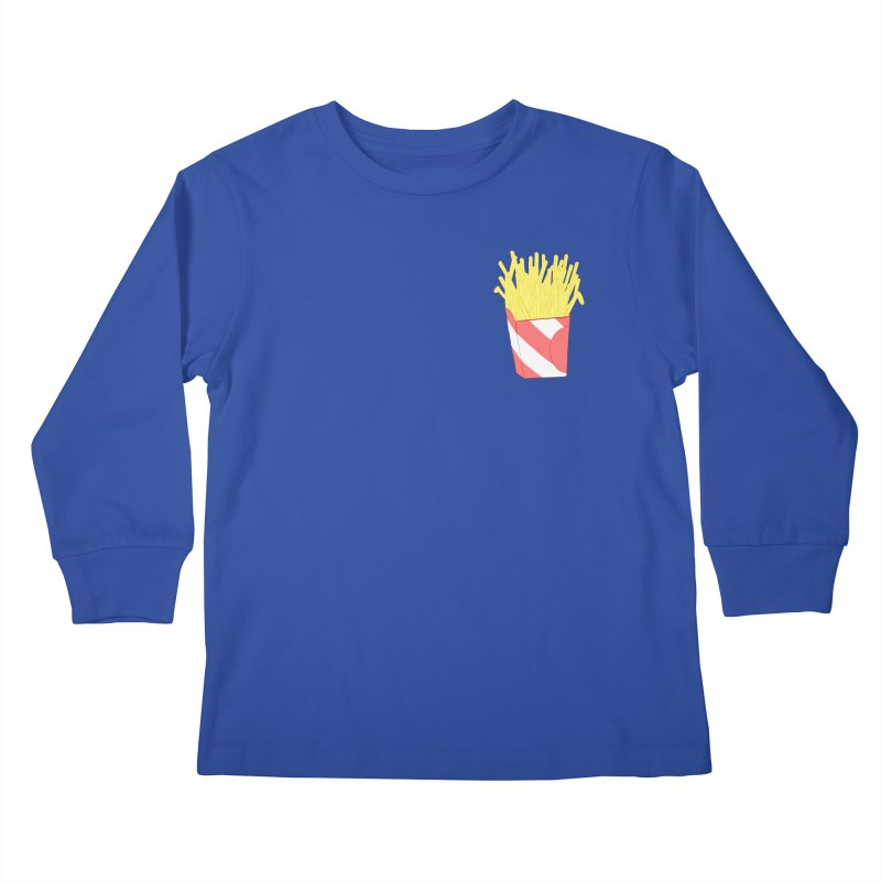 Fries (pocket) Kids Longsleeve T-Shirt by Hello Siyi