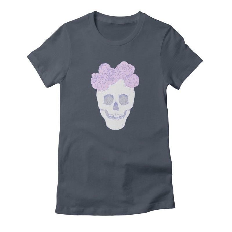 Crown of Peonies Women's T-Shirt by Hello Siyi